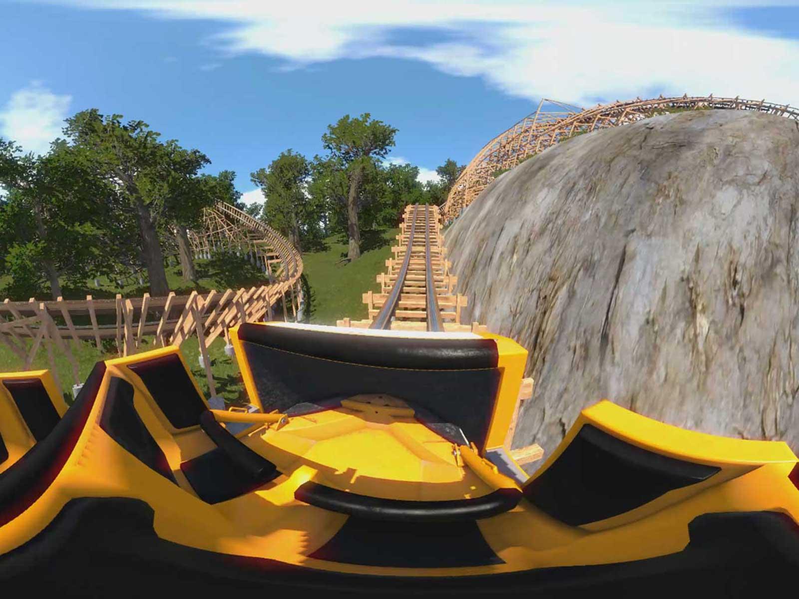 Simulateur de Roller Coaster en Réalité virtuelle