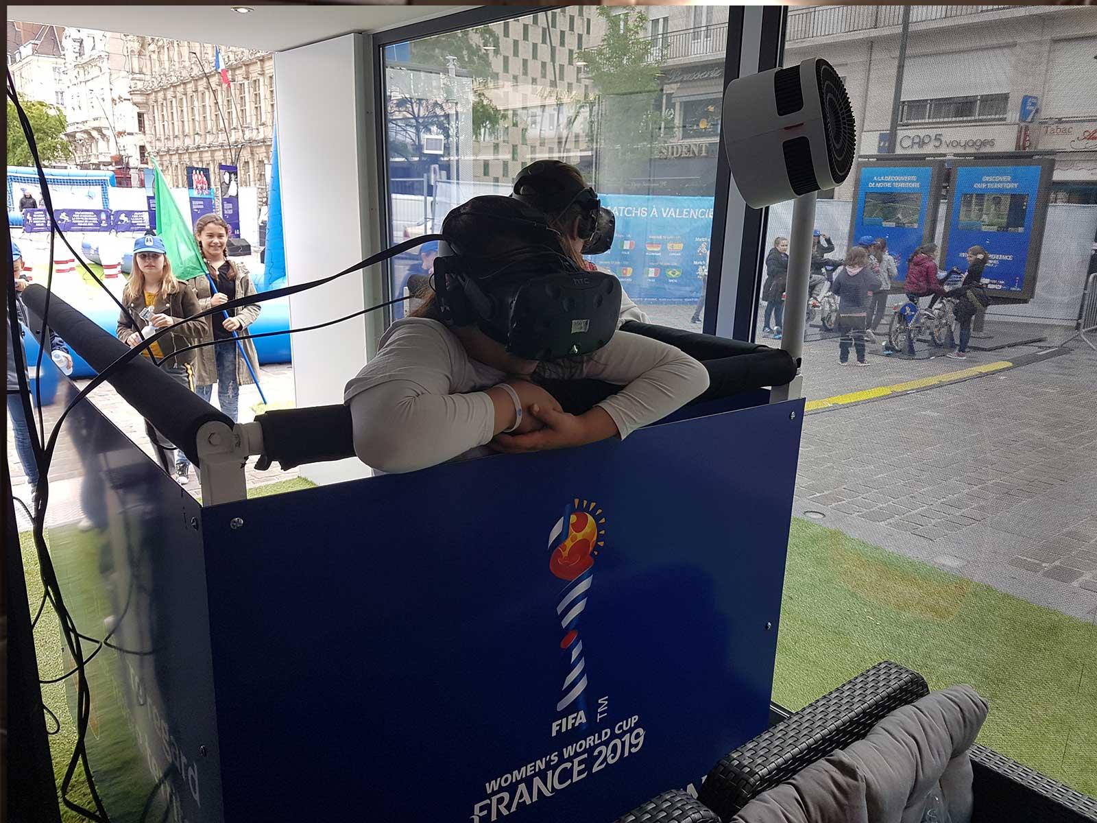Montgolfière en Réalité virtuelle