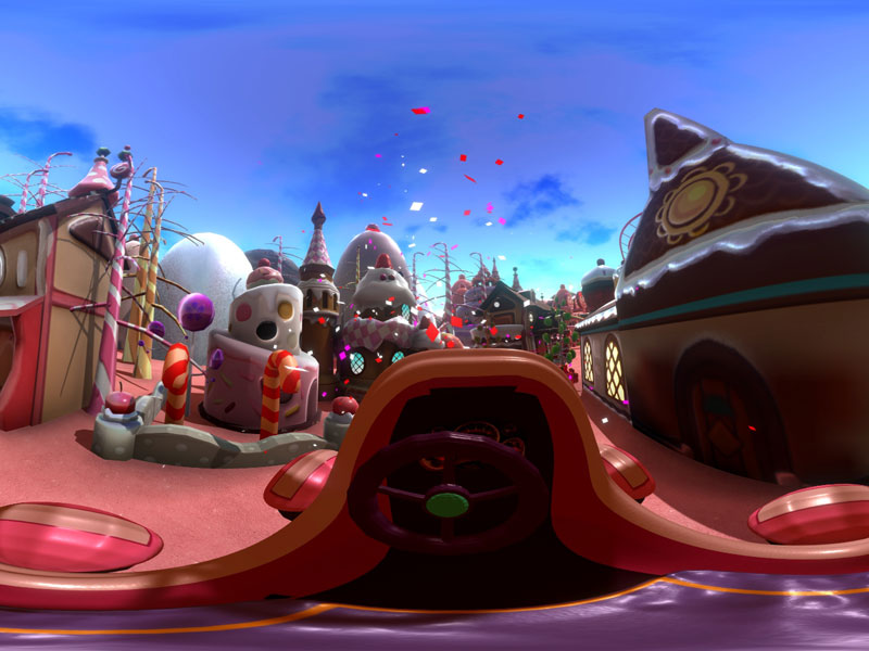 Candy World en réalité virtuelle