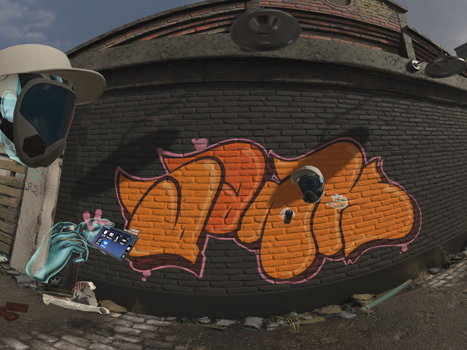 Grafitti VR