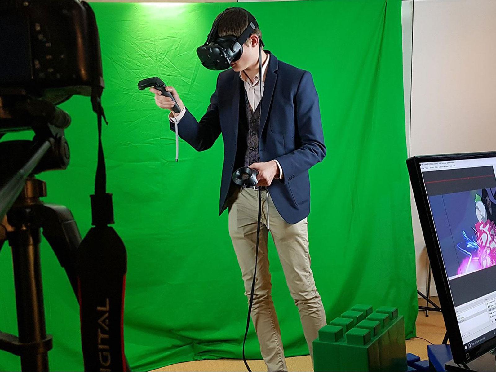 Mixed réalité dessin virtuelle