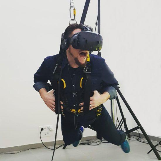 vol plané en réalité virtuelle