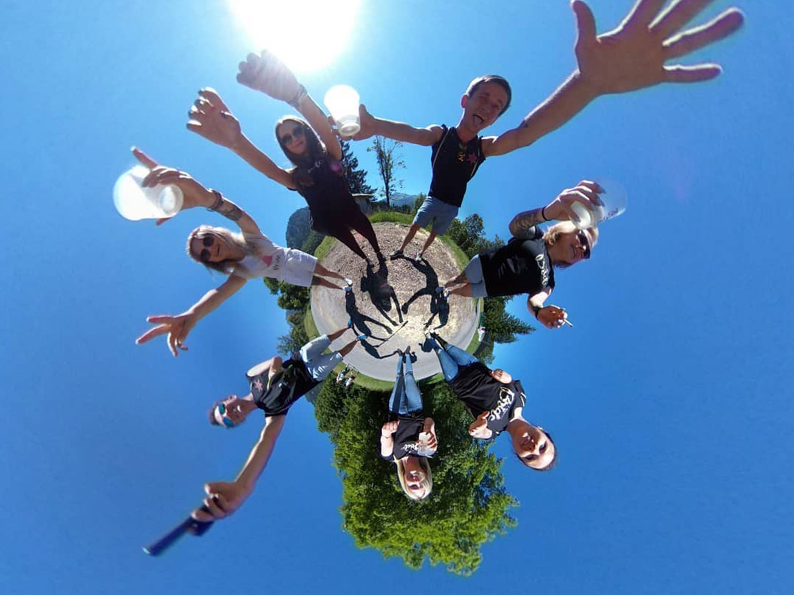 Animation photo 360 Little Planet