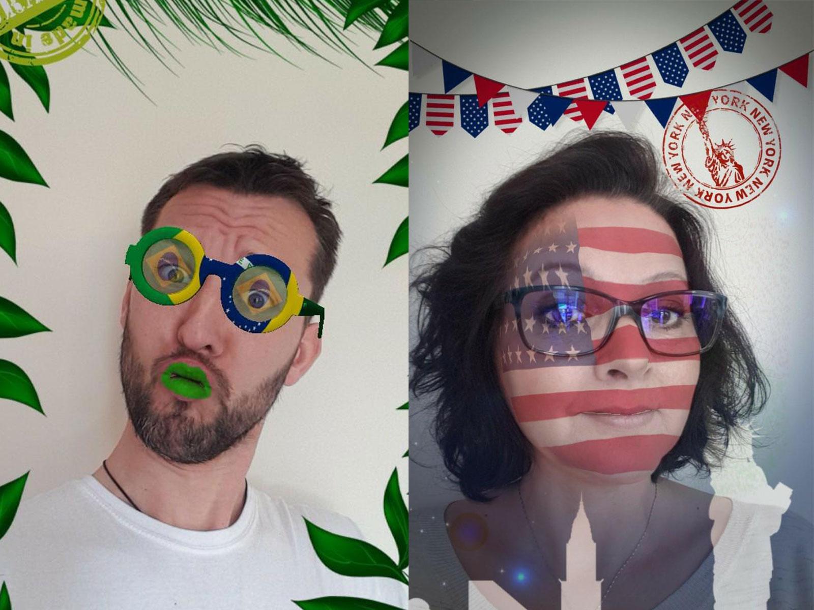 Création de vos filtres Snapchat et facebook En AR