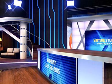 Animation présentateur Journal TV