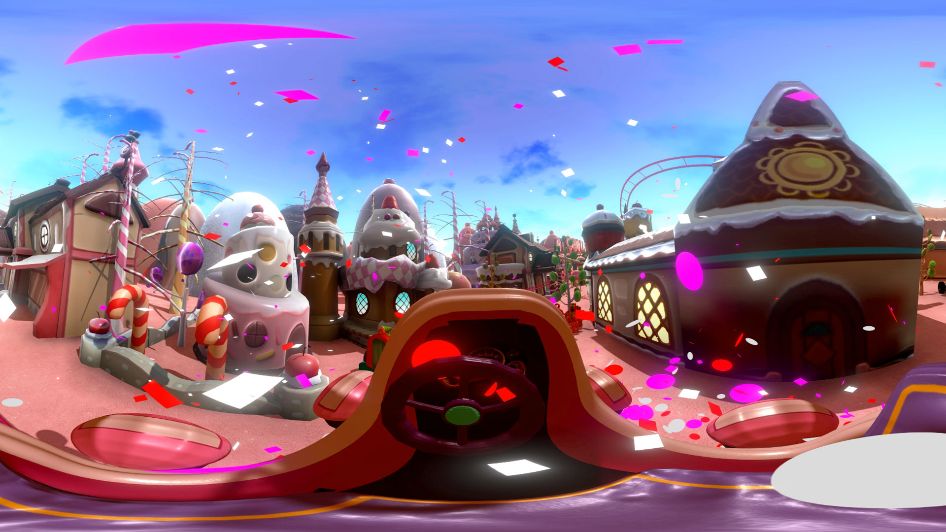 Candy world VR