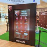 borne en réalité augmentée FC Metz