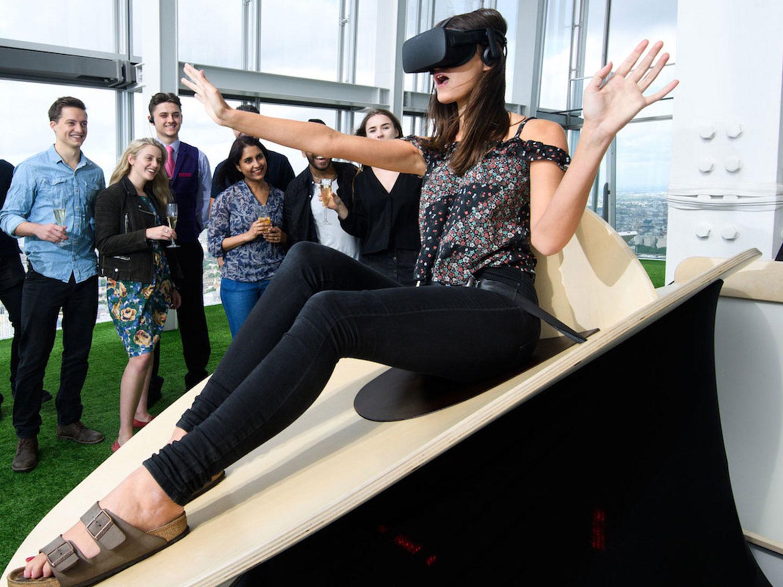 Le Slide en réalité virtuelle