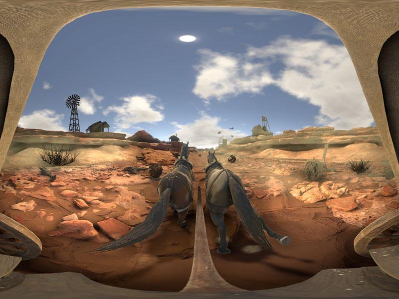 Ballade Farwest en réalité virtuelle