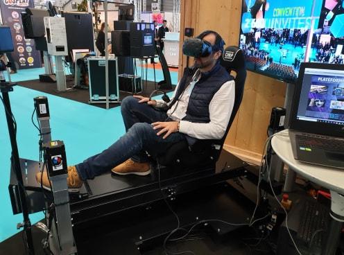 Simulateur Aviation en réalité virtuelle