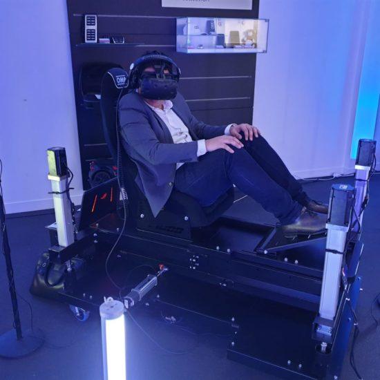 fauteuil immersive en réalité virtuelle