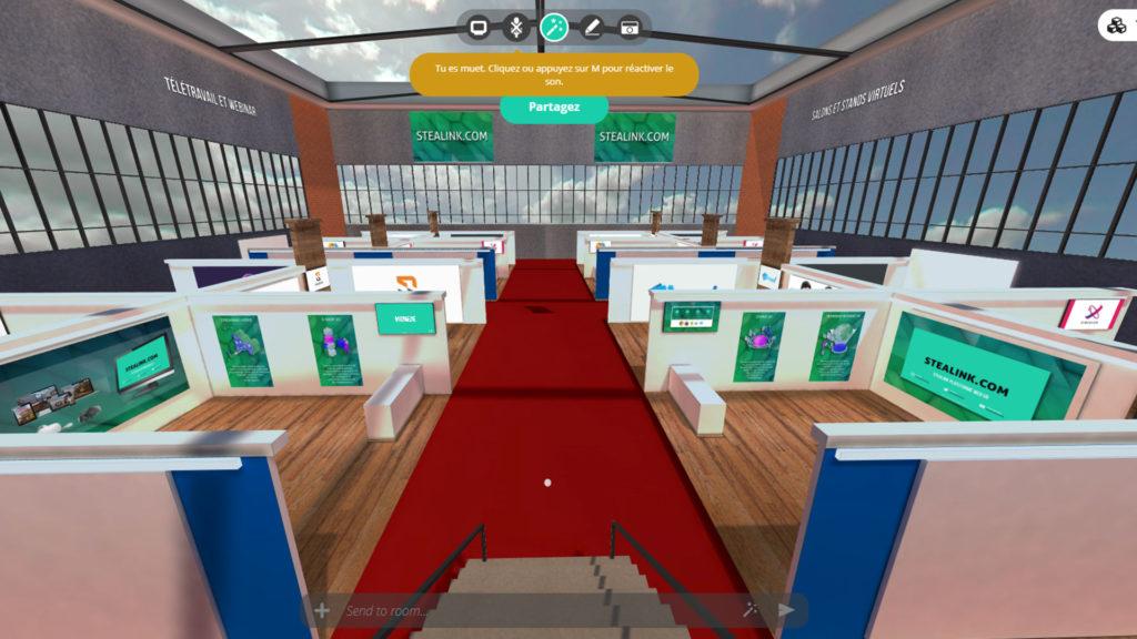 salon virtuel stealink.com par bemyevent.com