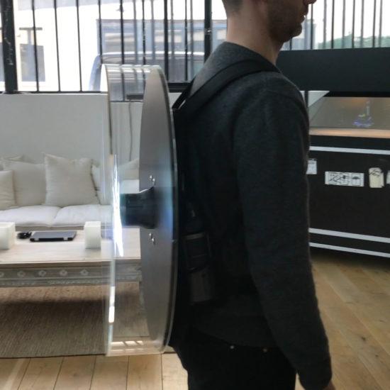 hologramme portable