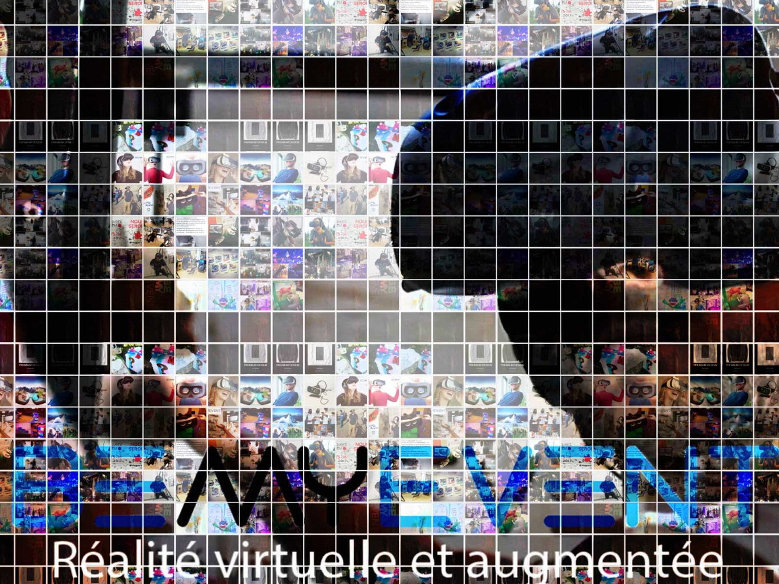 Photowall mosaic