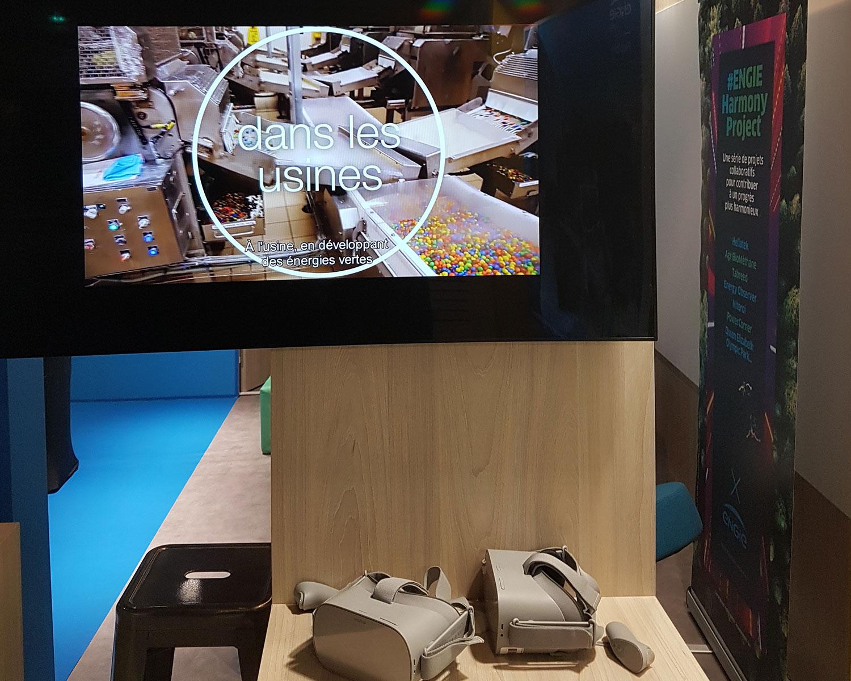 stand en réalité virtuelle