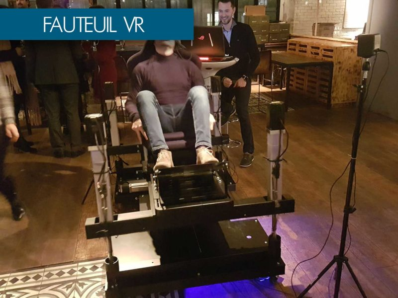 fauteuil vr