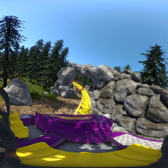 roller coaster en réalité virtuelle pour team building