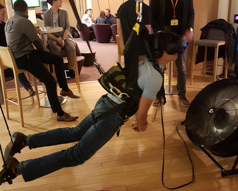 vol plan en réalité virtuelle