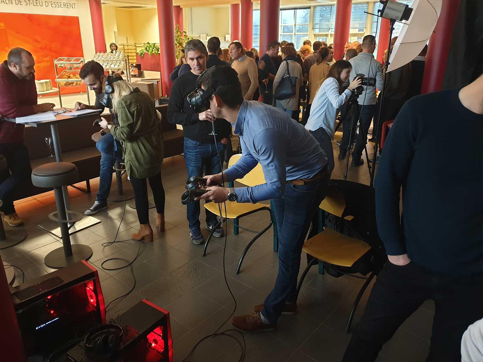team building en réalité virtuelle