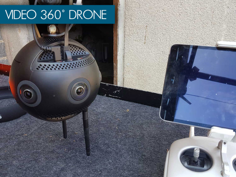 video 360 drone