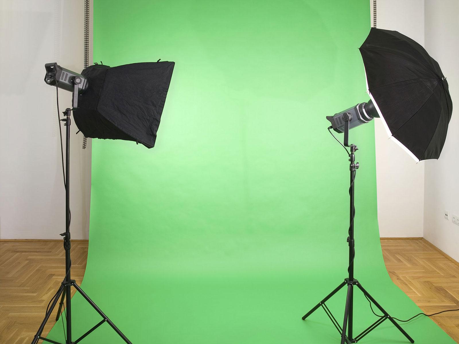 Animation incrustation video fond vert