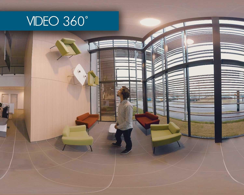 vidéo 360 degrés chantilly